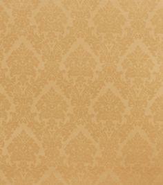 Home Decor Solid Fabric-Richloom Studio Destiny-Pale Gold MedallionHome Decor Solid Fabric-Richloom Studio Destiny-Pale Gold Medallion,