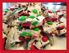 Keeping up with the Kitchen Mom: Christmas Cookie Bark      Had this at a party last night…was fabulous!  Will definetly be on my to make list…