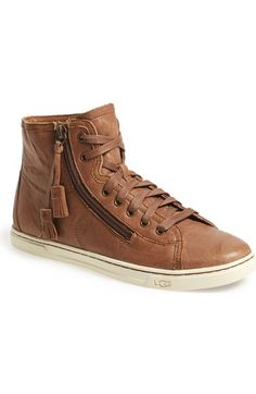 UGG® 'Blaney' Tasseled High Top Sneaker (Women) available at #Nordstrom