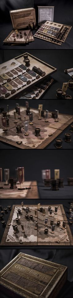 Game of Thrones Board Game Design More Chess Board? Diy Party Games, Diy Games, Math Games, Games For Kids, Games To Play, Game Of Thrones, Wooden Board Games, Board Game Design, Tabletop Games