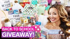 BIGGEST Back to School GIVEAWAY! (iPad Makeup School Supplies - $1300 Worth!) ENTER HERE: http://fsf.rocks/2vrmbV2 BIGGEST Back to School GIVEAWAY 2017! Im giving away back to school supplies office supplies Jansport backpacks Amazon Echo Dot Scotch Laminator Back to School makeup and an iPad. Well have 3 winners. Winners will be announced in 3 weeks on Aug 31st 2017. GOOD LUCK! FOLLOW ME BELOW Instagram: http://ift.tt/20qsIGy Snapchat: @FreeStuffFinder Facebook: http://ift.tt/Rzze1z…