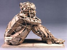 Pieces of wood #sculpture #art by Bruce Gueswel