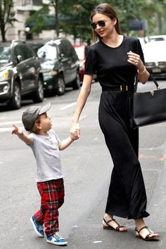 Miranda Kerr and her son Flynn Bloom, October 2013