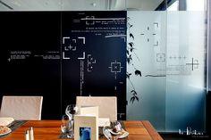 Design mural poétique pour le siège social de Bouygues Télécom