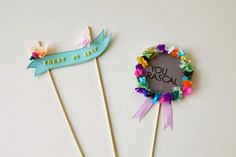 cake toppers DIY