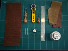 DIY tutorial for hand sewing a leather passport cover. Uses awl to punch holes and two leather needles stitching method. These tips will be great when I make a leather tophat for Halloween.