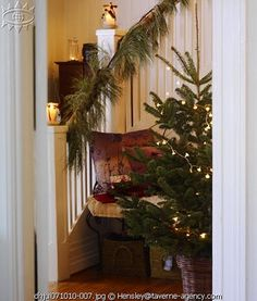 Norwegian Christmas Home...this is the style I grew up with at my paternal grandparents house...