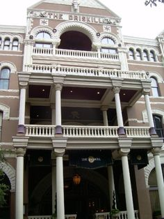 The Driskill. 604 Brazos st., Austin. Old world hotel. Take a tour and have lunch.