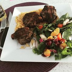First Easter dinner lamb chops #delish #mayflylife