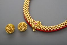 Maharashtrian Thushi Gold Necklace Simple, Gold Jewelry Simple, Silver Jewelry, Necklace Set, Key Jewelry, Silver Anklets, Pendant Necklace, India Jewelry, Temple Jewellery