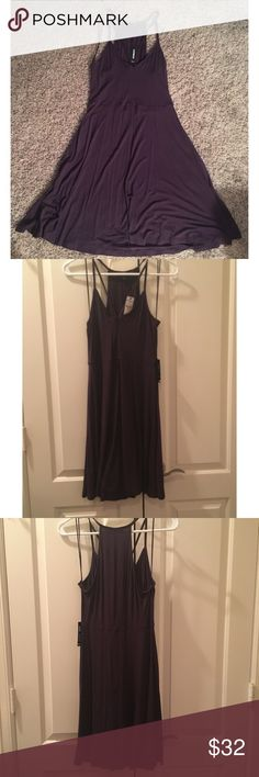 Express Sundress New with tags. Deep purple. Express Dresses