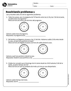 Resolviendo problemas 1 English Writing, English Lessons, 1, Teacher, Content, Education, Travertine Pavers, Spanish, Batman