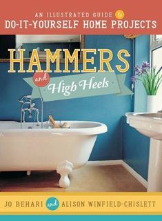 Hammers and High Heels: An Illustrated Guide to Do-It-Yourself Home Projects Kitchen Sink Interior, White Kitchen Sink, Basic Tool Kit, Basic Tools, Easy Projects, Home Projects, Home Renovation, Home Remodeling, Diy Cabinets