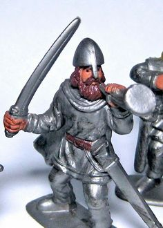 Supreme 1:32 Vikings | Wee Men Plastic Toy Soldiers