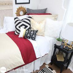florida state noles fsu garnet u0026 gold designer college dorm room bedding hot off the press set