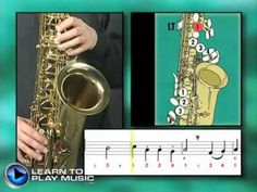 Ex014~T How to Play Saxophone - Saxophone Lessons for Beginners ~ Tenor Part - YouTube