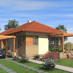 Village House Design, Village Houses, Gazebo, Pergola, Home Projects, Tiny House, House Plans, Parents, Outdoor Structures
