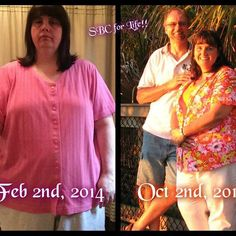"""So proud of Kathy!! She is getting her health back!! Kathy has this to say.. """"Hi Everyone! I truly don't like pictures of me so this isn't easy but I had to put it out there for you all to see because I feel so strongly about Skinny Fiber. Also, I don't like to call this my Before & After because I'm still a work in progress!! On February 2, 2014, I took control of my life by starting this product. I had been searching for something that would help me lose weight and keep it off. This…"""