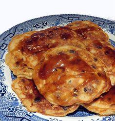 One Perfect Bite: Flipping Out - My Recipe Rotation - Cinnamon Raisin Pancakes