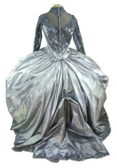 PLUS SIZE Gothic Steampunk Victorian Ball Gown by CaughtMyEyeCandy, $150.00