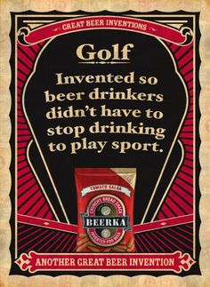"""great golf ads 