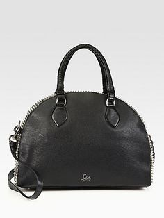 Christian Louboutin - Panettone Large Studded Shopping Bag - Saks.com