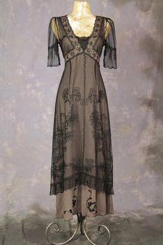 Ladies Edwardian Downton Abbey Titanic Gown Image