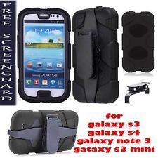 NEW SHOCKPROOF HARD SURVIVOR CASE COVER FOR SAMSUNG GALAXY S3,S3MINI,S4,NOTE3