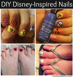 DIY Disney-Inspired Nail Art