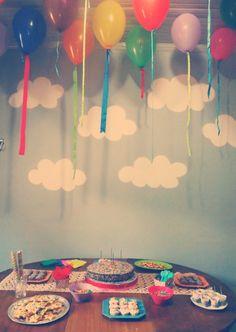 caoscriativo » Festa com o tema arco-íris