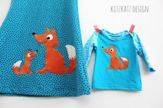What does the Fox say? Appliques, Sewing Projects, Fox, Embroidery, Inspiration, Baby, Design, Handarbeit, Breien