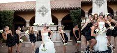 Fun photos of the bride and her bridesmaids | villasiena.cc
