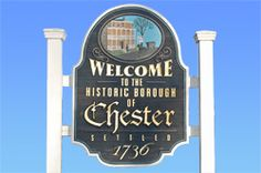 Welcome Sign   Chester Borough   Morris County NJ