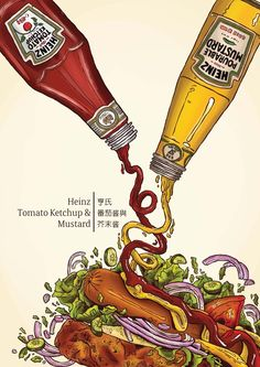 Food Illustration by Sshown Chang, via Behance