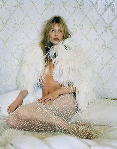 Kate Moss by Tim Walker, British Vogue December 2013