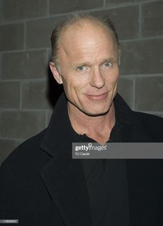 Ed Harris during Ed Harris Sighting in New York City - February 2006 at Streets Of Manhattan in New York City, New York, United States. (Photo by RJ Capak/WireImage) Bald Men, My Man, Sea Shells, Manhattan, New York City, February, Handsome, United States, News