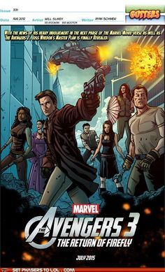 Avengers 3 : The Return of Firefly!
