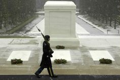 The Tomb of the Unknown Soldier at Arlington Cemetery was dedicated on November 11, 1921. #arlington