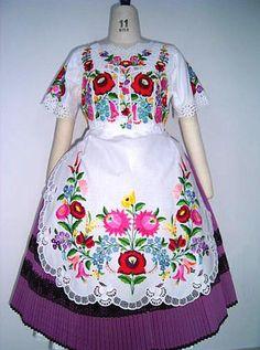 Kalocsai hungarian dress from Mitzi Penzes.