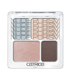Catrice - Quartetto ombra *Nude Purism* - C01 Naked Brown