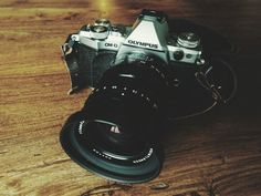 OM-D E-M5 Mark II with Voigtlander Nokton 17.5mm f0.95 and A7 leather camera strap