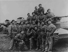 Polish tankers and the tank 7ТР. 1939