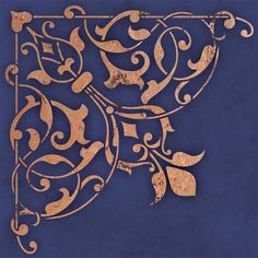 Accentuate a light fixture or decorate the ceiling above your dining table with theArabesque Corner Ceiling Stencils.Use the Arabesque Ceiling Stencil Set for