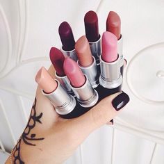 MAC Lipsticks! Love these babies!!