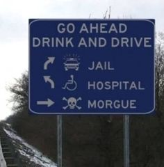 drinking-and-driving new year years road signs drunk driving safety