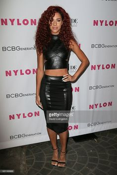 Natalie La Rose arrives at NYLON and BCBGeneration's Annual Young Hollywood May Issue Event at HYDE Sunset: Kitchen + Cocktails on May 12, 2016 in West Hollywood, California.