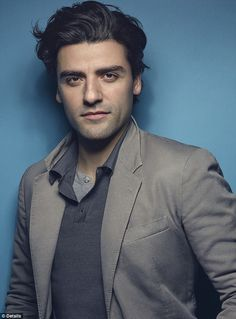 Keeping it in the family: Oscar Isaac, who appears on the cover of Details, dished that his Star Wars-mad uncle won a part as an extra with him in Episode VII after creating T-shirts for his nephew to give to the cast