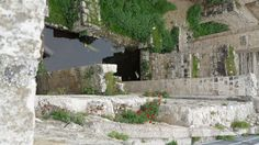 "The Pool at Bethsaida. The Message John 5: 1-9  ""Near the Sheep Gate in Jerusalem there was a pool, in Hebrew called Bethesda, with five alcoves. Hundreds of sick people—blind, crippled, paralyzed—were in these alcoves. One man had been an invalid there for thirty-eight years. When Jesus saw him stretched out by the pool and knew how long he had been there, he said, ""Do you want to get well?"""
