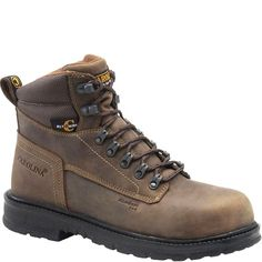 CA9559 Carolina Men's Aluminum Toe Safety Boots - Dark Brown