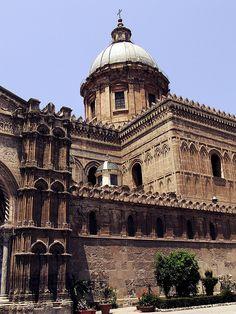 Cathedral of Palermo, Sicily, Italy #palermo #sicilia #sicily